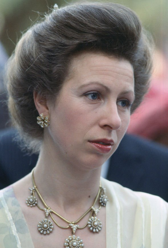 Princess Anne was hurt when Charles failed to pick her as godmother Image GETTY