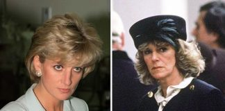 Princess Diana and Camilla Parker Bowles Image Getty