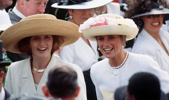 Princess Diana and Sarah Ferguson together in Image Getty