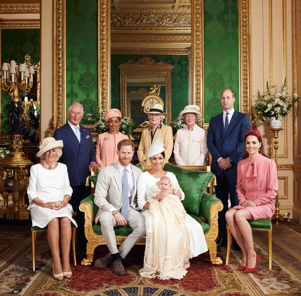 Princess Diana brother snubbed Charles Spencer was not present at Archies christening Image GETTY