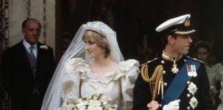 Princess Diana carried a cascade of flowers designed by Longmans Florist Image GETTY