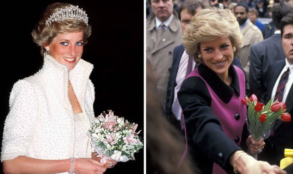 Princess Diana pictured in Image Getty