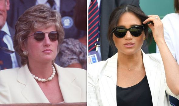 Princess Diana would have told Meghan Markle to get on with it Image GETTY