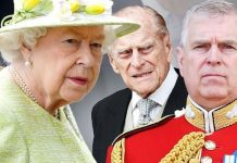 Queen Elizabeth II and the Duke of Edinburgh the Duke of York Image Getty
