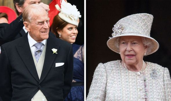 Queen Elizabeth and Prince Philip Why the royal couple DON'T live together Image GETTY