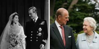Queen Elizabeth and Prince Philip they have been married nearly years Image GETTY