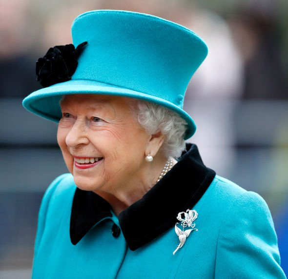 Queen heartache The Queen wears bright colours so people can spot her from afar Image GETTY