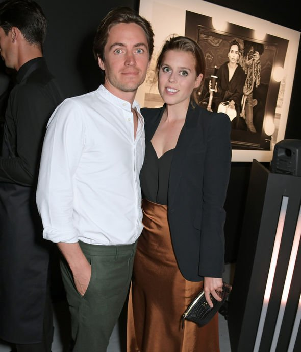 Royal news Beatrice and her partner Edoardo Mapelli Mozzi Image GETTY