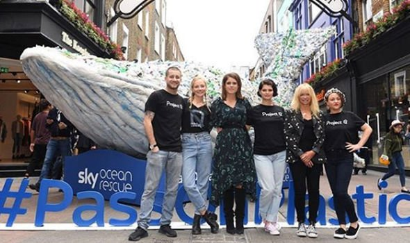 Royal news Eugenie is supporting Plastic Free July Image Princess Eugenie