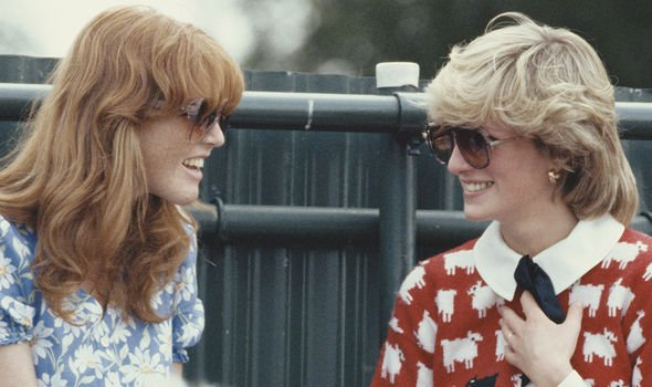 Royal news Princess Diana and Sarah Ferguson pictured together Image GETTY