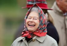 Royal news The Queen having a laugh at Balmoral Image Getty