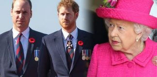 Royals in turmoil The Queen does reportedly not care for the alleged feud between Harry and William Image GETTY