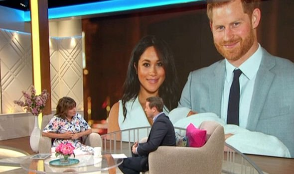 Russell Myers and Lorraine Kelly discussed the Duke and Duchess of Sussex Image ITV