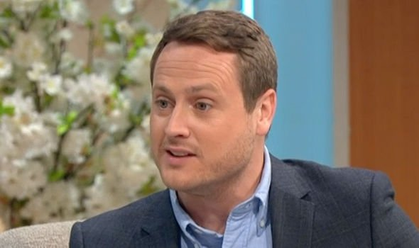 Russell Myers said the royal couple would have to step up their search for a permanent nanny Image ITV