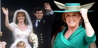 Sarah Ferguson Sarah and Andrew announced their engagement on March and married that year Image GETTY