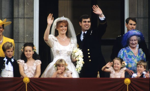 Sarah Ferguson The Duke and Duchess appear very close and some fans think they will soon remarry Image GETTY