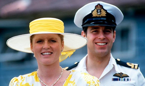 Sarah Ferguson and Prince Andrew in Image Getty
