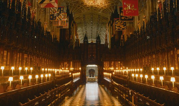 St Georges Chapel before the fire Image GETTY