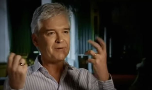 TV presenter Phillip Schofield Image YouTube RedSquirrelCrossing