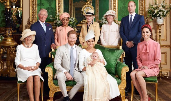 The Duke and Duchess of Sussex kept Archies christening this month private Image Getty