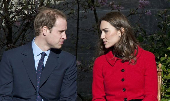 The Duke and Duchess visit St Andrews in Image GETTY