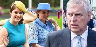 The Duke of York Princess Eugenie and Princess Beatrice Image Getty