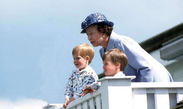 The Queen is reportedly a protective and sweet type of grandmother Image GETTY
