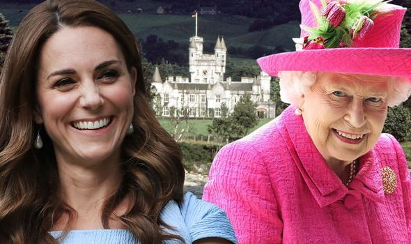 The Queen let Kate Middleton break royal protocol in royal visit to Balmoral Image Getty