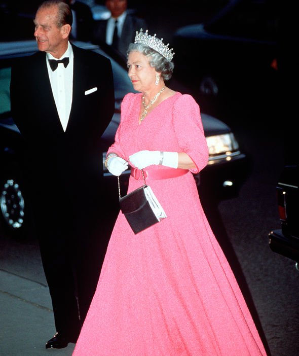 The Queen often opts for pink a colour she has been seen wearing for decades Image GETTY