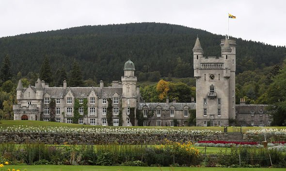 The Queen spends every summer holiday at Balmoral in Scotland Image Getty