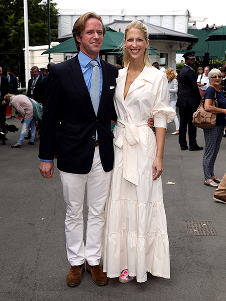 The couple were spotted at Wimbledon Photo C GETTY IMAGES