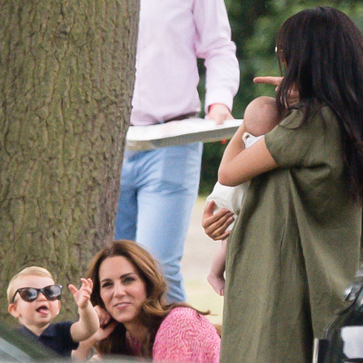 The hilarious way Prince Louis made Meghan Markle laugh at the polo – all the photos Photo C AP