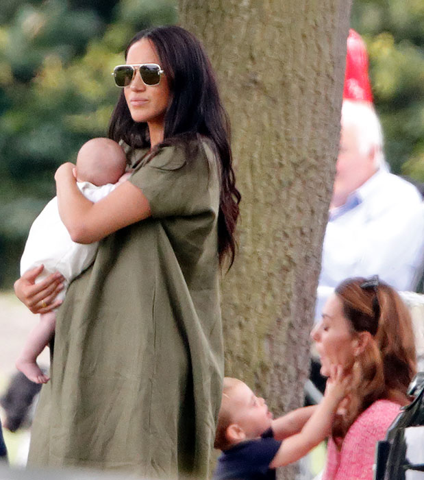 The hilarious way Prince Louis made Meghan Markle laugh at the polo – all the photos Photo C Getty Images