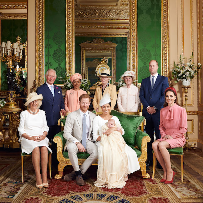 The royal family released some gorgeous official photographs from the day Photo C GETTY IMAGES