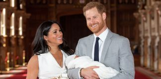 The similarities between Archies christening and the Cambridge childrens Photo C Getty Images