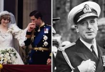 cropped Lord Louis Mountbatten was killed two years before Chalres and DIanas wedding Image Getty