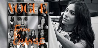 cropped Meghan Markle has been unveiled as the guest editor for the September Issue of British Vogue Image PA