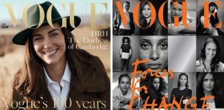 cropped Meghan Markle vs Kate Middleton in Vogue How Kate and Meghan did Vogue VERY differently Image Peter Lindbergh Vogue