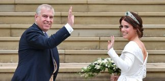 cropped Prince Andrew shares photo from Princess Eugenies wedding for this special reason Photo C GETTY IMAGES