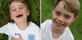 cropped Prince George has been described as full of beans Image PA