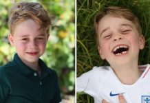 cropped Prince George is full of beans according to a family friend Image GETTY