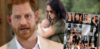 cropped Prince Harry has revealed what he fears most for baby Archie Image Getty Peter Lindbergh Vogue
