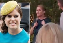 cropped Princess Eugenie pregnant Sarah Ferguson has addressed speculation her daughter is expecting Image GETTY