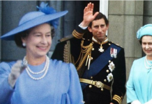 cropped Queen Elizabeth happier at Charles or Andrew's wedding Fergie or Diana have more rapport Image GETTY