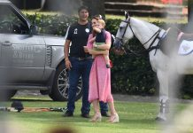 kate and louis at the polo a