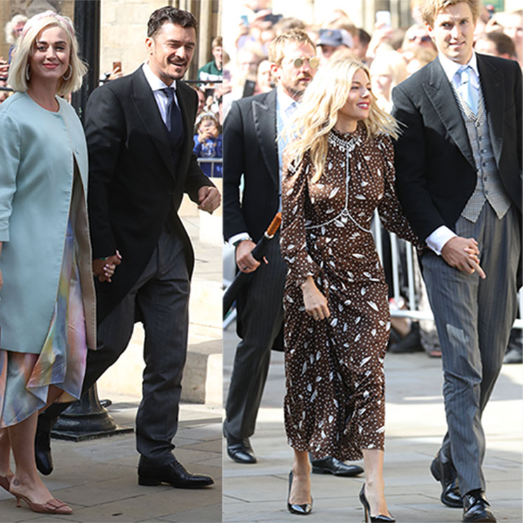 stylish celebrity guests at Ellie Goulding's wedding from Katy Perry to Sienna Miller Photo C GETTY IMAGES