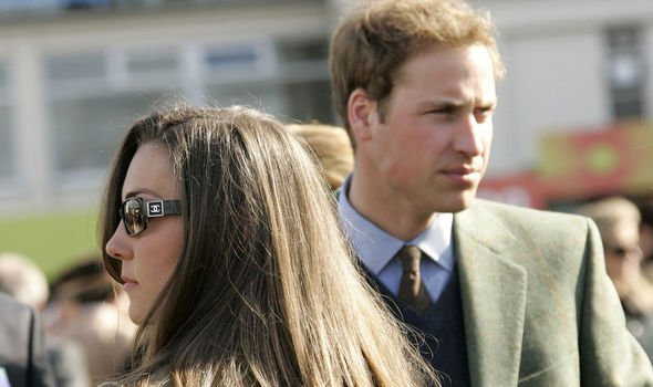 A glum looking Kate and William shortly before the split Image Getty