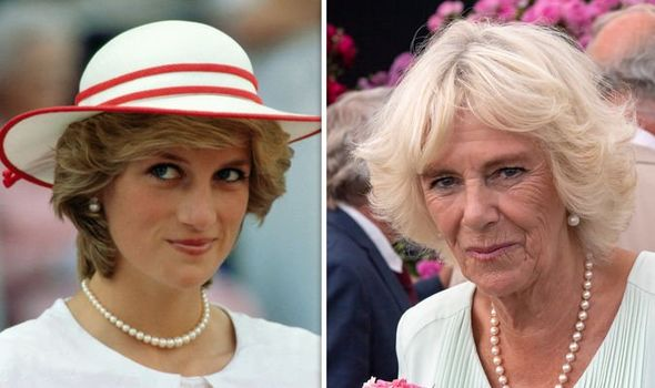 According to one royal expert Camilla has never sought to replace Diana as a mother Image GETTY
