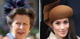 Anne Princess Royal and Meghan Duchess of Sussex Image GETTY