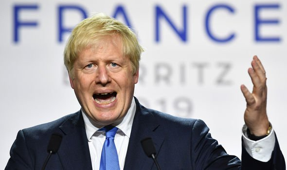 Boris Johnson has sparked fury with his plan to suspend Parliament Image GETTY